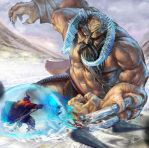 Giant from the frost mountains by dll by Daviddleonluis