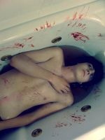 there's a dead boy in my bath by milkboxer