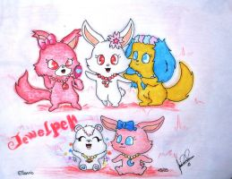 Jewelpets Tinkle by davidcool1989