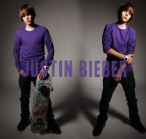 two purple bieber by angelsaga