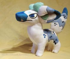 [PLUSH] El Blucho by ShiroTheWhiteWolf