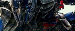 Optimus Prime the Knight by sonichedgehog2