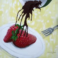 Chocolate Strawberry Melt by randomranma
