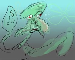 Squidward by GregoryRoth