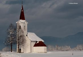 Church of St. Lenart by lpetrusa