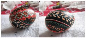 Pysanka - Ukrainian Easter Egg by Aeris-13