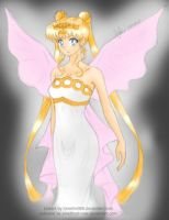 [Collab] Neo Queen Serenity by amethyst-rose