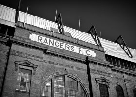 Main Stand II, Ibrox Stadium. by davidjearly