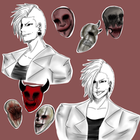 The Masks by The-MADNESS-Begin