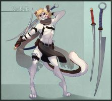 Simple Character Sheet commission for Kodiakone! by painted-bees