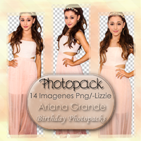 Pack Png Ariana Grande 01 by LizSchmidtEditions
