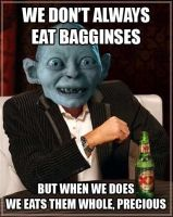 Most interesting Gollum on Middle-Earth by DeadGreySnow