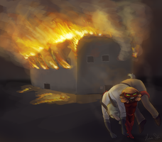Burning by Lachtaube