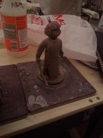 ceramic 3 project : Character Kai (W.I.P.) by ownerfate