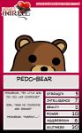Pedobear Trading card by Dark-Lucid