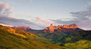 Sunset at Owl Creek Pass by kennedmh