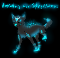 AntiGravity Cyber Hatchling for Squiggy-Adoptables by TheFireGypsy