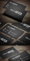 Creative Personal Business Card by FlowPixel