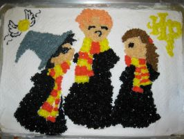 My Harry Potter Birthday Cake by jesspotter