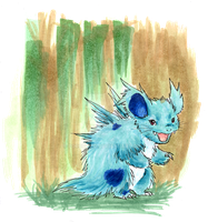 Nidorina - Plain and Quilly by Porcubird