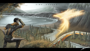 ::Fire Valley:: by sangheili117
