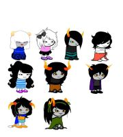 Homestuck Adopts OPEN *UPDATED* by earthboundsonic