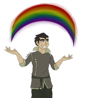 LoK: Under The Rainbow by StarbuckViper