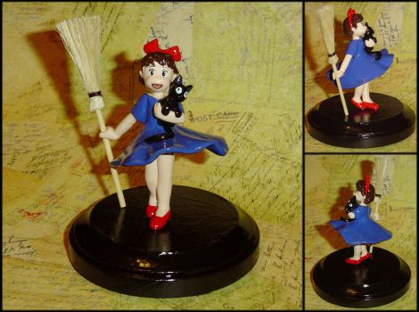 Kikis Delivery Service Custom Sculpture by YellerCrakka