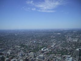 View from CN Tower 3 by Carnage-Alchemist