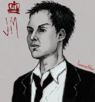 Jim Moriarty ~ Andrew Scott by TesseractGlow