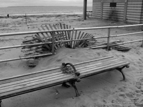 Superstorm Sandy in Coney Island 2 by dc2610