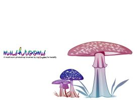 Mushrooms by VexingArt