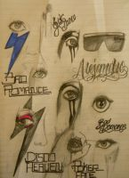 Gaga Eyes by 12KathyLees12