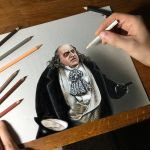 Portrait of Danny DeVito as Penguin by marcellobarenghi