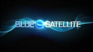 Blue Satellite Animation Still by todd587