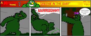 AMT - Greenie In The Gust by BluebottleFlyer