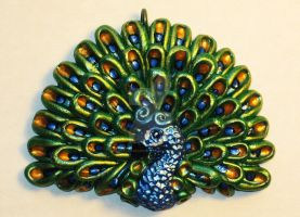 Peacock Pendant by GabriellesBabrielles