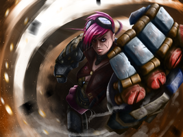 Here comes Vi by Splodeman