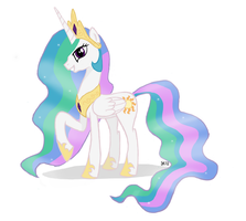 Princess Celestia by saturtron