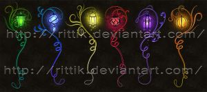 Staff adopts 16 (CLOSED) Magic Lamp set by Rittik-Designs
