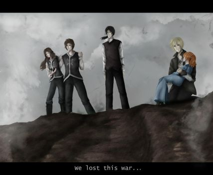 We lost this war by SpacePhoenix
