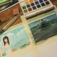 Weekend Watercolors by pepevargas