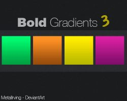Bold Gradients 3 by MetalIrving