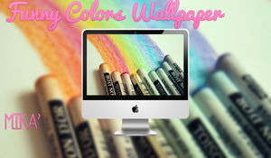 Wallpaper Funny Colors by MikaStoessel