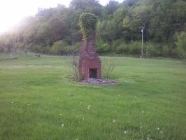 The Chimney Still Stands by Daggett-Walfas
