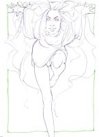 Fast lineart for colourists. by Beomene