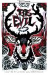 BE EVIL By Artist Tom Kelly by TomKellyART