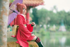 Yoshiwara in Flames - Kagura by KikueShino