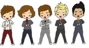 One Direction png by VasHappeninCarrots