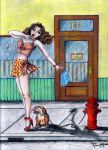 Pin-up Pup by dollhouse65
